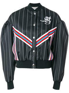 укороченная куртка-бомбер  MSGM