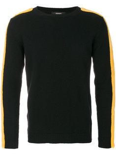 свитер с полосками по бокам Fendi