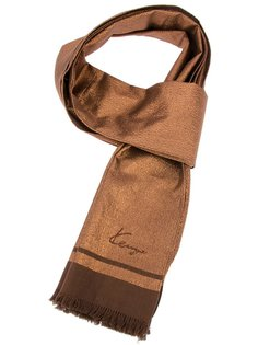 классический шарф с бахромой Kenzo Vintage