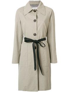 пальто-тренч с поясом  Golden Goose Deluxe Brand
