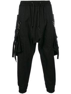 спортивные брюки со съемными карманами D.Gnak