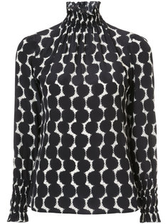 gathered printed blouse  Akris Punto