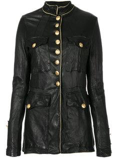 куртка в стиле милитари Giorgio Brato