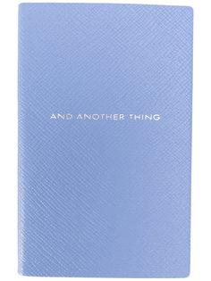 записная книжка And Another Thing Smythson