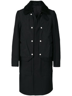 sheepskin collar coat Tim Coppens