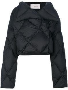 укороченная стеганая дутая куртка  Pringle Of Scotland