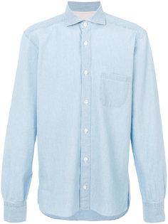 рубашка с накладным карманом Eleventy