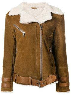 куртка с подкладкой из овчины  Eleventy
