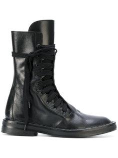 ботинки в стиле милитари Ann Demeulemeester