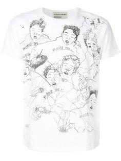 illustration print T-shirt Enfants Riches Deprimes