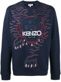 толстовка с геометрическим изображением тигра Kenzo
