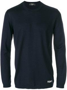 свитер с локтевыми заплатками Bag Bugs Fendi
