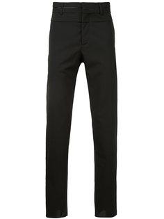 брюки с атласными полосками Oamc