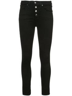 high-rise skinny jeans  Veronica Beard