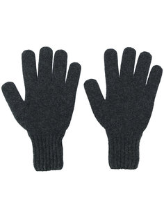 перчатки с ребристыми манжетами Drumohr