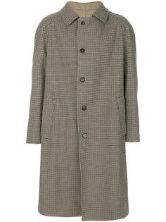 пальто в ломаную клетку Replica  Maison Margiela