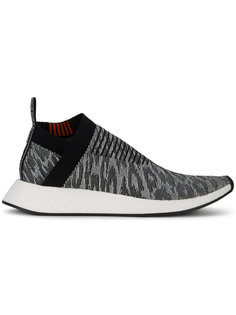Black Leopard NMD CS2 Primeknit Trainers Adidas Originals