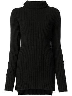 приталенный свитер с отворотом  Ann Demeulemeester
