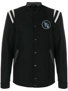 куртка-бомбер с вышивкой лобстера Lanvin