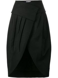юбка с запахом с завышенной талией Jacquemus