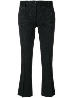 укороченные брюки с вышивкой Alberto Biani