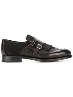 buckle detail loafers Santoni
