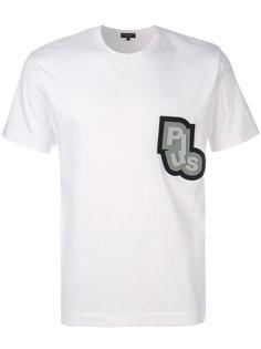 футболка с заплаткой Plus Comme Des Garçons Homme Plus