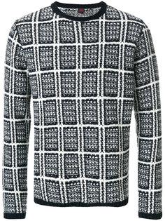 свитер в клетку Mp  Massimo Piombo