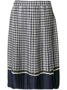 плиссированная юбка Tory Burch