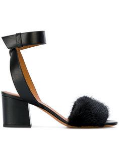 босоножки с открытым носком Givenchy