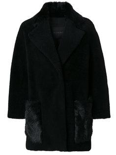 fur embellished jacket Blancha