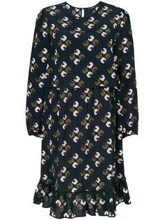 платье миди с принтом  Odeeh