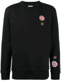 Loopback embroidered patch sweatshirt Lanvin