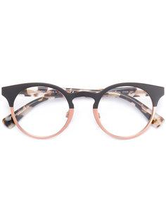 очки в круглой оправе Valentino Eyewear