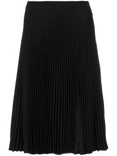 плиссированная юбка миди  Versace