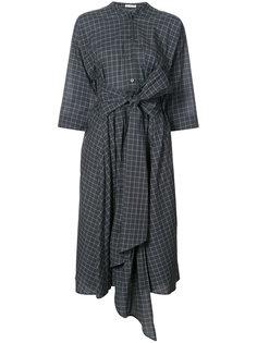 платье-рубашка с поясом Tome
