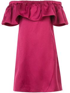 платье Crystal с открытыми плечами Zac Zac Posen
