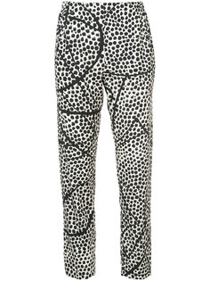 printed slim fit trousers Zero + Maria Cornejo