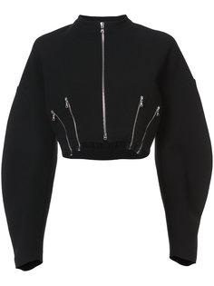 укороченная куртка с молниями Tome