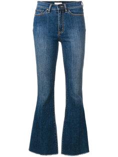 укороченные джинсы клеш  Tory Burch