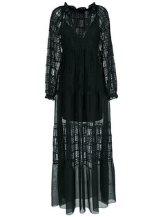 lace maxi dress Giuliana Romanno