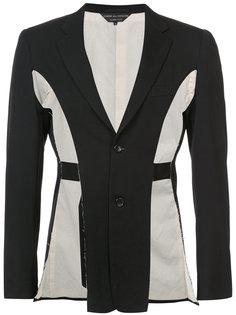 raw blazer Comme Des Garçons Homme Plus