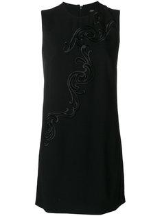 платье с вышивкой Baroque  Versace