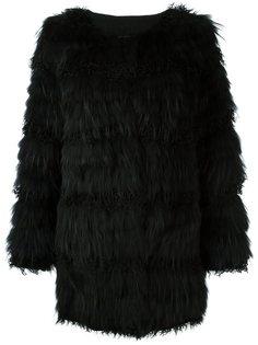 меховое пальто  Meteo By Yves Salomon