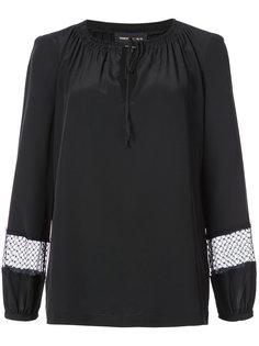 drawstring neck blouse  Vanessa Seward