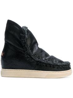 ботинки на потайном каблуке Mou