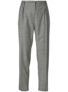check tailored trousers Max Mara Studio