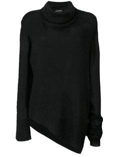 асимметричный свитер  Ann Demeulemeester