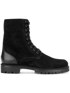 military style boots René Caovilla