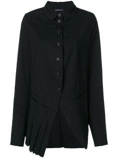 асимметричный пиджак плиссе Rundholz
